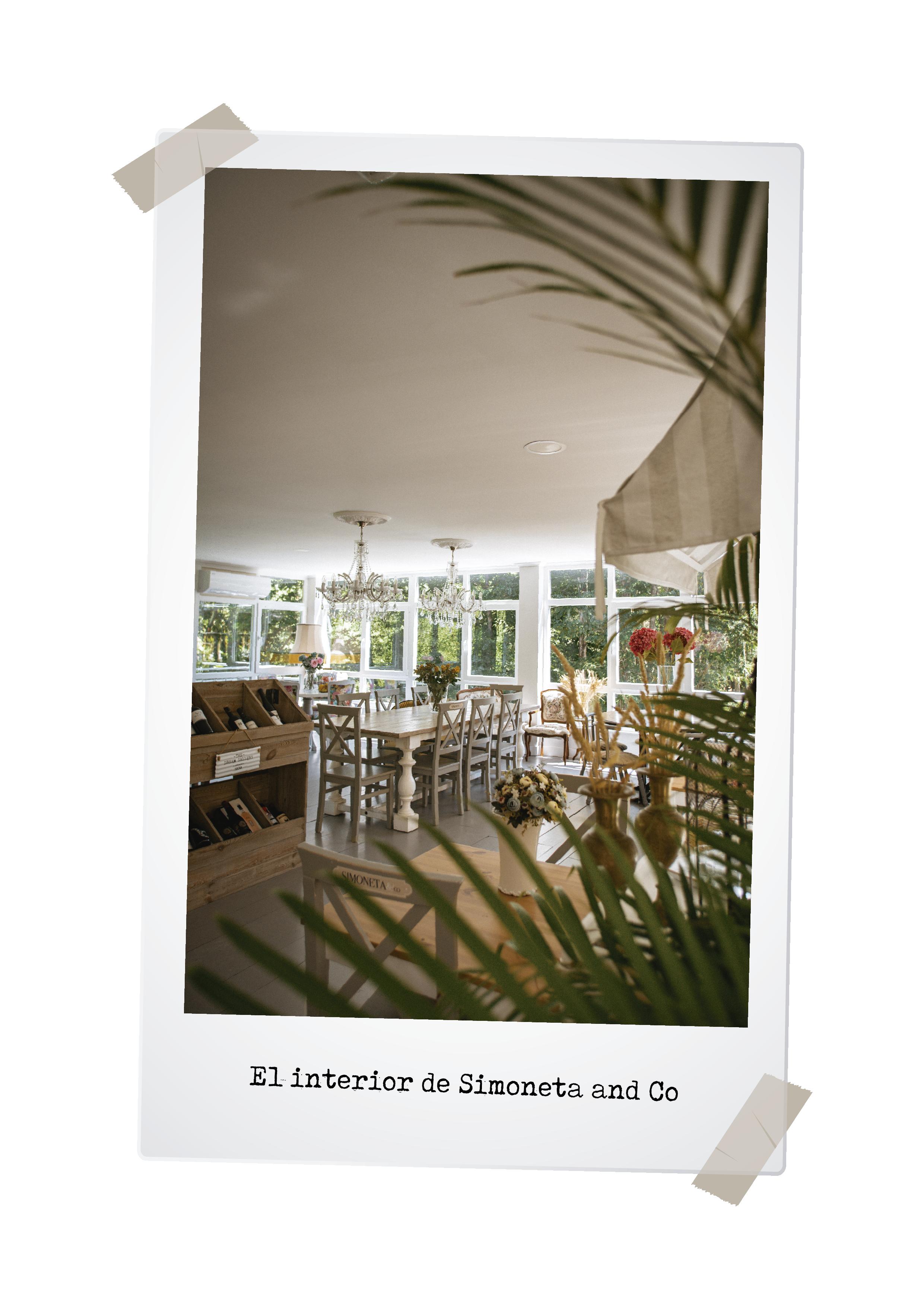 Interior SimonetaandCo Restaurante Mondariz Balneario
